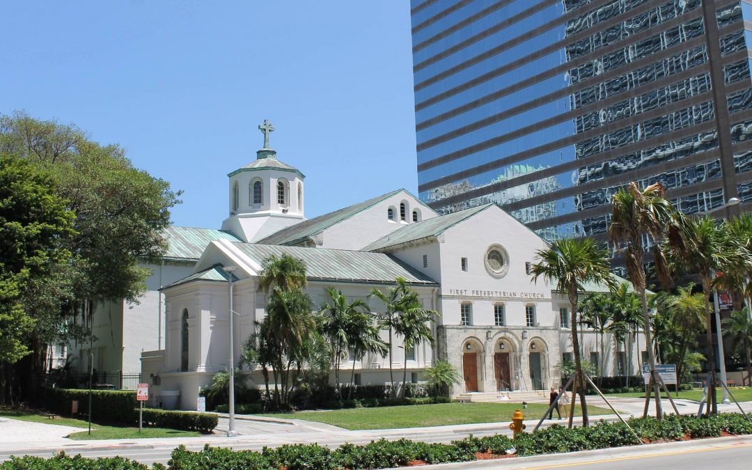A Key Portion Of The Baywalk May Finally Be Built In Brickell Behind The First Presbyterian Church