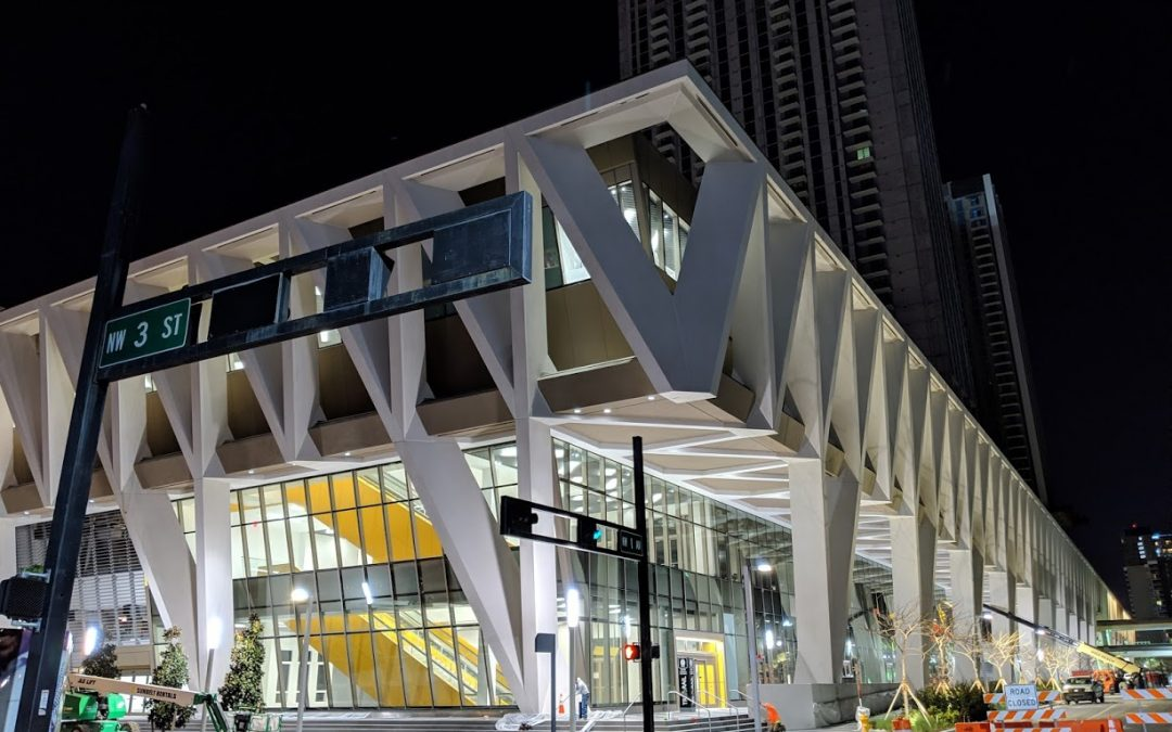 Photos Of Downtown Miami's New Tri-Rail Station, Where Starbucks Is Now Under Construction