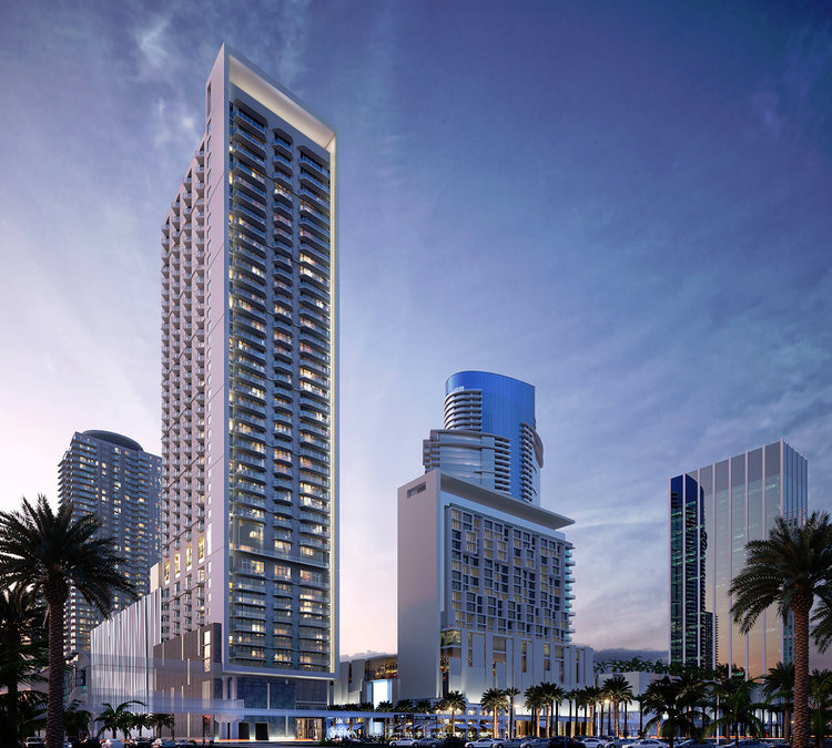 Site Work Appears To Be Underway At 44-Story Luma Miami Worldcenter