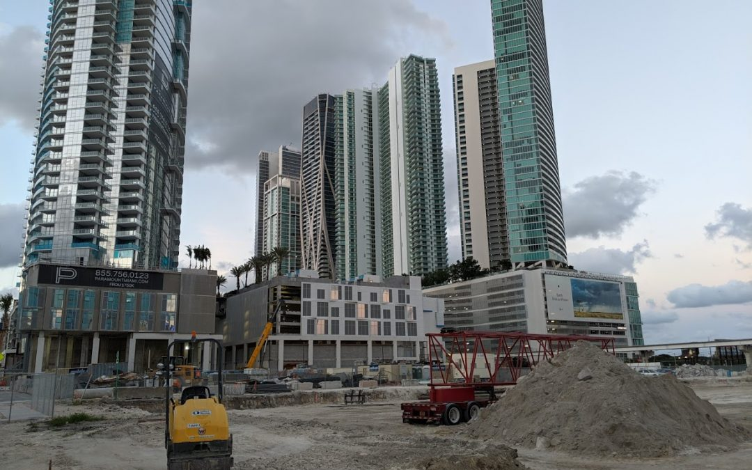 MIAMI WORLDCENTER GETS UTILITIES FOR MORE RETAIL & RESTAURANT AS CRANES ARRIVE AT SITE OF 43-STORY LUMA