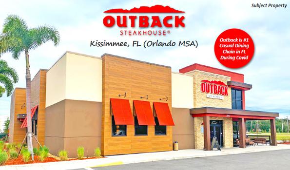 Outback Steakhouse (NNN) Kissimmee, Florida